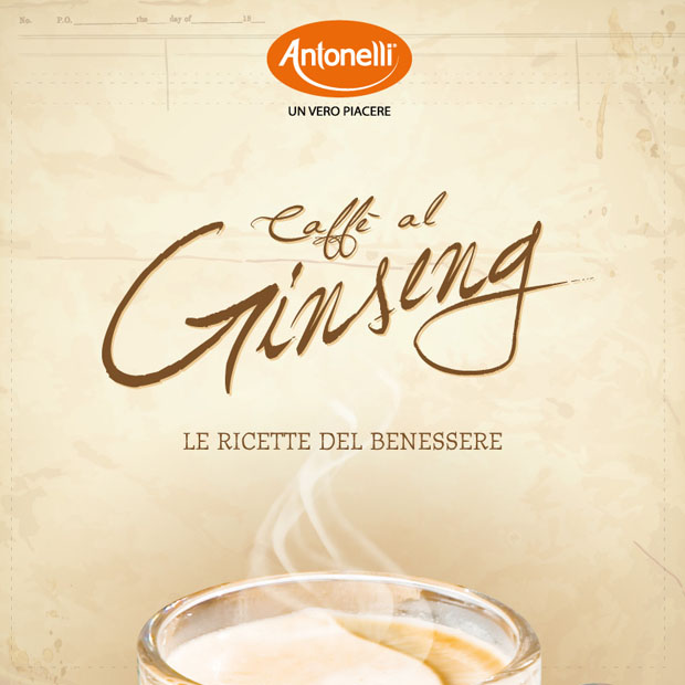 Antonelli ricettario Ginseng