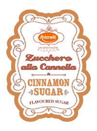 Cannella zucchero antonelli
